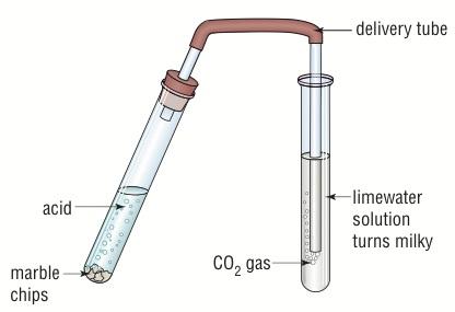 calcium carbonate in acid